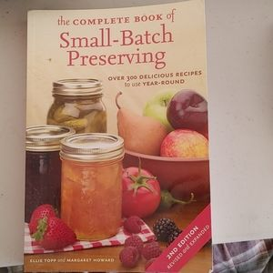 Small batch preserving book